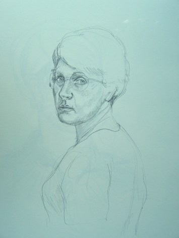 drawing-self-portrait-with-short-hair