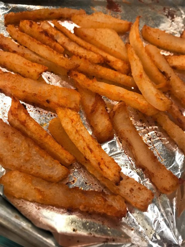Jicama Fries by Alethia True Fit By You