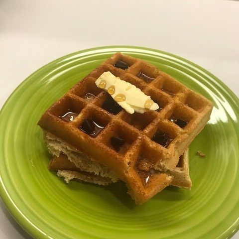 Greek yogurt waffles by Alethia True Fit By You