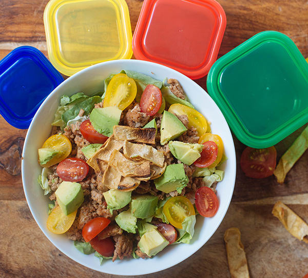 Healthy Taco Salad Recipe by Alethia True Fit By You
