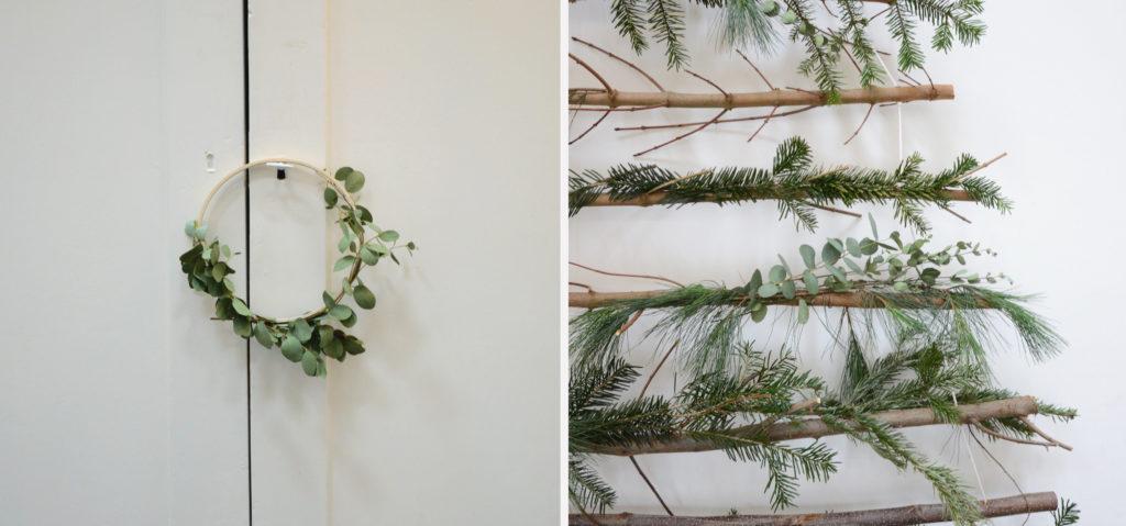 kerstdecoratie eucalyptus