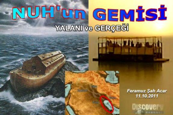 Nuhun gemisi yalani ve gercegi Alevi bektasi kizilbas Pir Sultan Devrimci Aleviler Birligi DAB Feramuz Acar