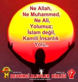 1 Hz imam Ali divani Alevi bektasi kizilbas pir sultan devrimci aleviler birligi DAB Feramuz Sah Acar yolumuz ne allah ne muhammed