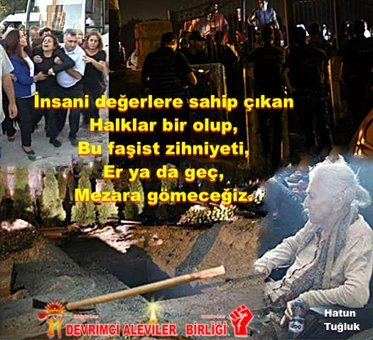 Devrimci Aleviler Birliği DAB Alevi Kızılbaş Bektaşi pir sultan cem hz Ali 12 imam semah Feramuz Şah Acar HATUN TUGLUK