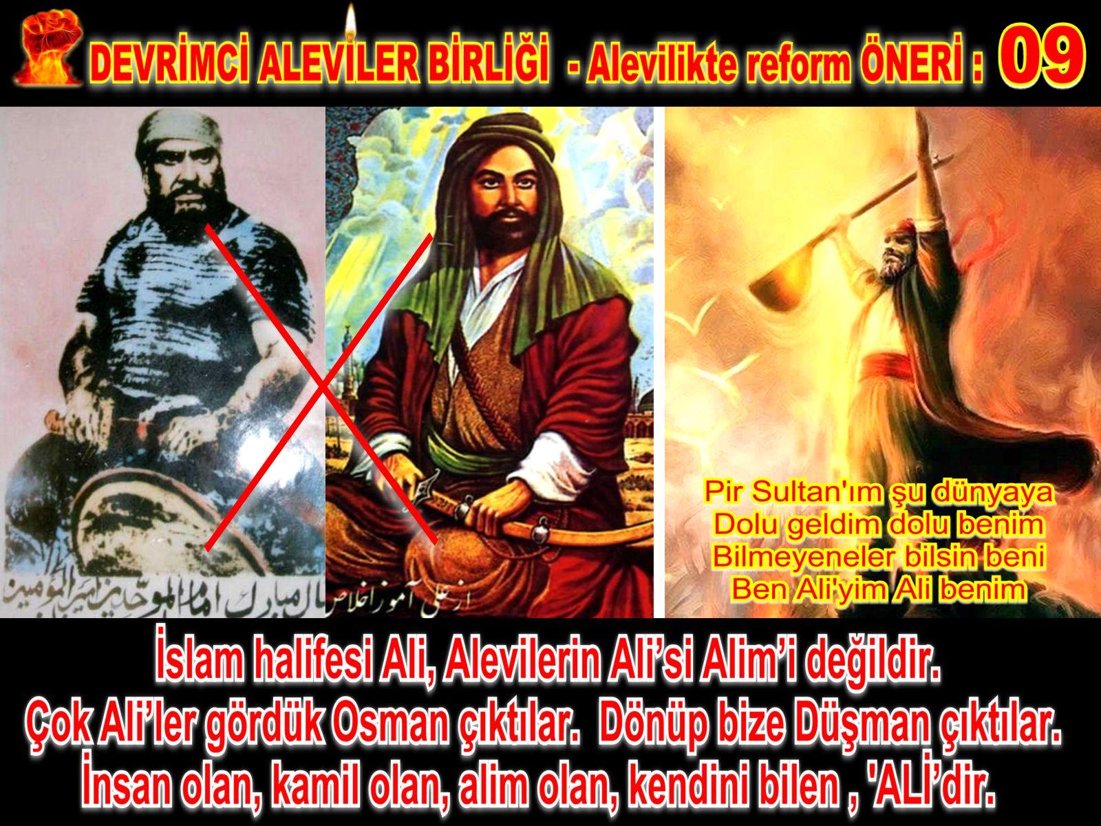 Devrimci Aleviler Birliği DAB Alevi Kızılbaş Bektaşi pir sultan cem hz Ali 12 imam semah Feramuz Şah Acar REFOM oneri9