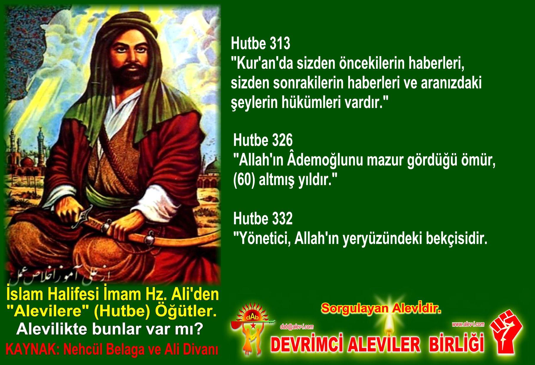 Devrimci Aleviler Birliği DAB Alevi Kızılbaş Bektaşi pir sultan cem hz Ali 12 imam semah Feramuz Şah Acar halife imam hz ali den hutbe ogut inciler 11