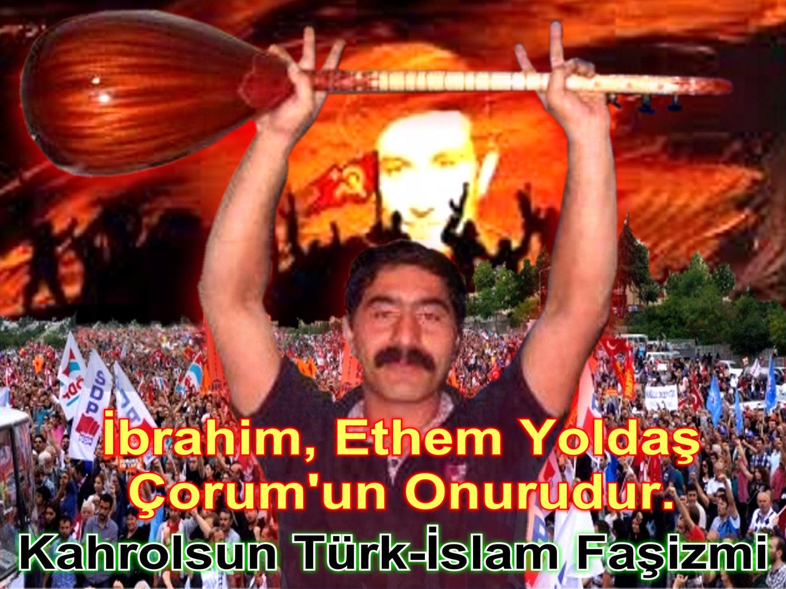 Devrimci Aleviler Birliği DAB Alevi Kızılbaş Bektaşi pir sultan cem hz Ali 12 imam semah Feramuz Şah Acar ibrahim etem çorum
