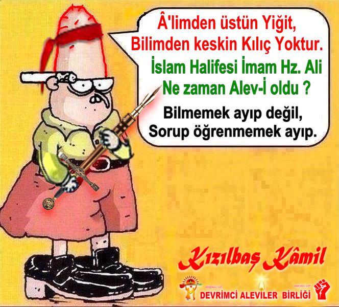 Devrimci Aleviler Birliği DAB Alevi Kızılbaş Bektaşi pir sultan cem hz Ali 12 imam semah Feramuz Şah Acar kizilbas kamil alim ali ne zaman alevi oldu