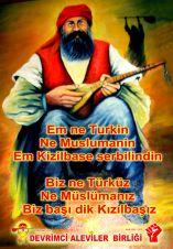 Devrimci Aleviler Birliği DAB Alevi Kızılbaş Bektaşi pir sultan cem hz Ali 12 imam semah Feramuz Şah Acar kizilbasiz