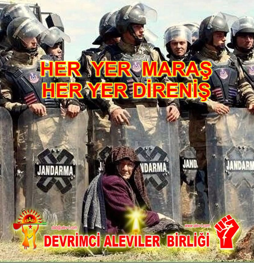 Devrimci Aleviler Birliği DAB Alevi Kızılbaş Bektaşi pir sultan cem hz Ali 12 imam semah Feramuz Şah Acar maras2 DAB