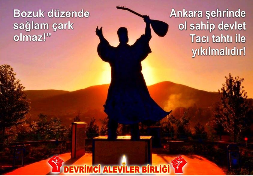 Devrimci Aleviler Birliği DAB Alevi Kızılbaş Bektaşi pir sultan cem hz Ali 12 imam semah Feramuz Şah Acar photo_410186742463054