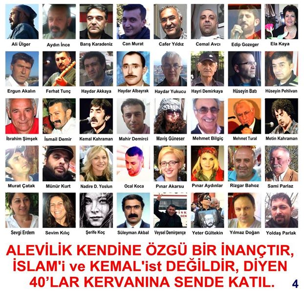 Devrimci Aleviler Birliği DAB Alevi Kızılbaş Bektaşi pir sultan cem hz Ali 12 imam semah Feramuz Şah Acar photo_465670513581343