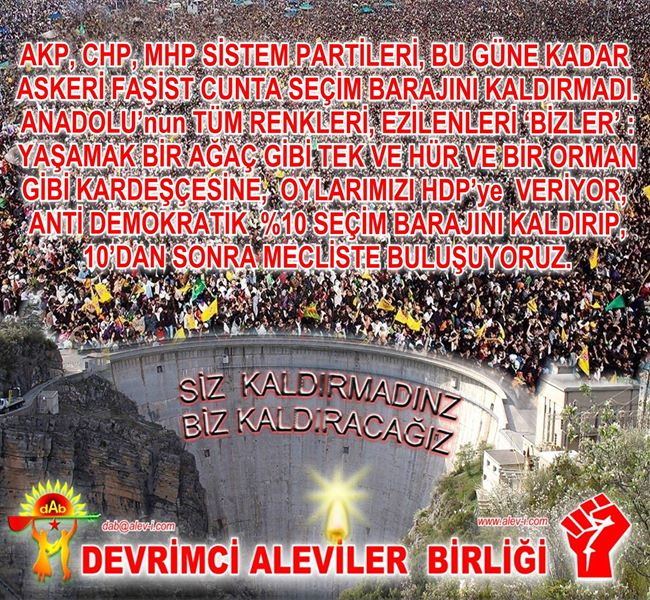 Devrimci Aleviler Birliği DAB Alevi Kızılbaş Bektaşi pir sultan cem hz Ali 12 imam semah Feramuz Şah Acar photo_496788510469543