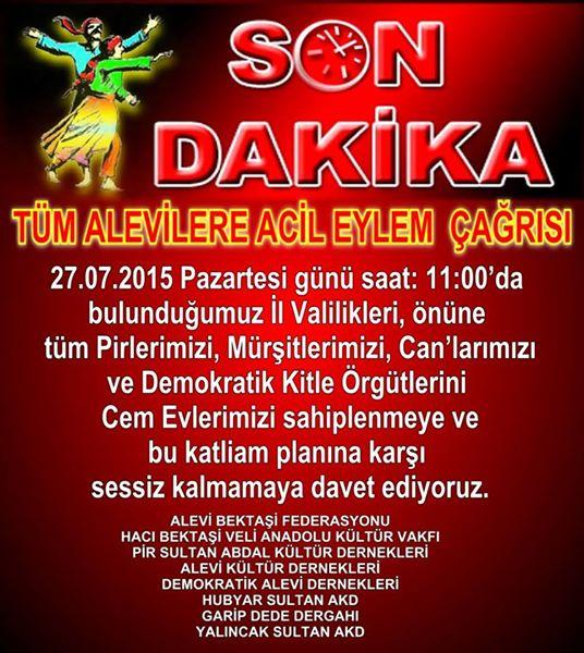 Devrimci Aleviler Birliği DAB Alevi Kızılbaş Bektaşi pir sultan cem hz Ali 12 imam semah Feramuz Şah Acar photo_548606871954373