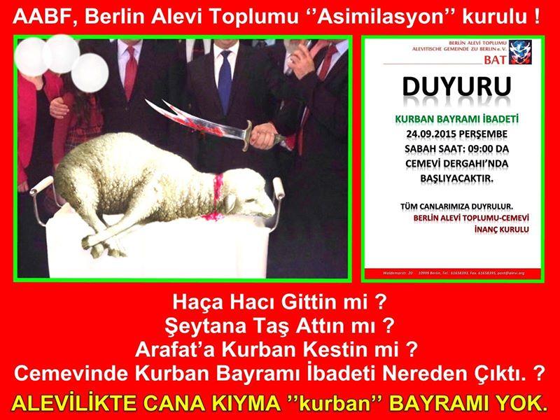 Devrimci Aleviler Birliği DAB Alevi Kızılbaş Bektaşi pir sultan cem hz Ali 12 imam semah Feramuz Şah Acar photo_576466415835085
