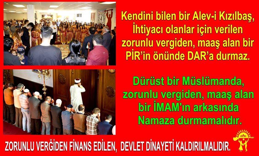 Devrimci Aleviler Birliği DAB Alevi Kızılbaş Bektaşi pir sultan cem hz Ali 12 imam semah Feramuz Şah Acar photo_604136583068068