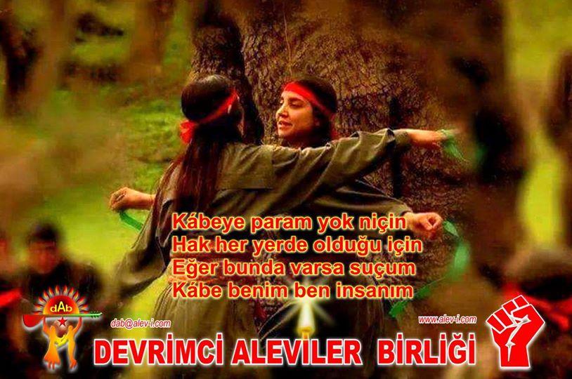 Devrimci Aleviler Birliği DAB Alevi Kızılbaş Bektaşi pir sultan cem hz Ali 12 imam semah Feramuz Şah Acar photo_615161371965589