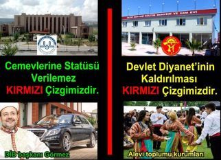 Devrimci Aleviler Birliği DAB Alevi Kızılbaş Bektaşi pir sultan cem hz Ali 12 imam semah Feramuz Şah Acar photo_619265924888467