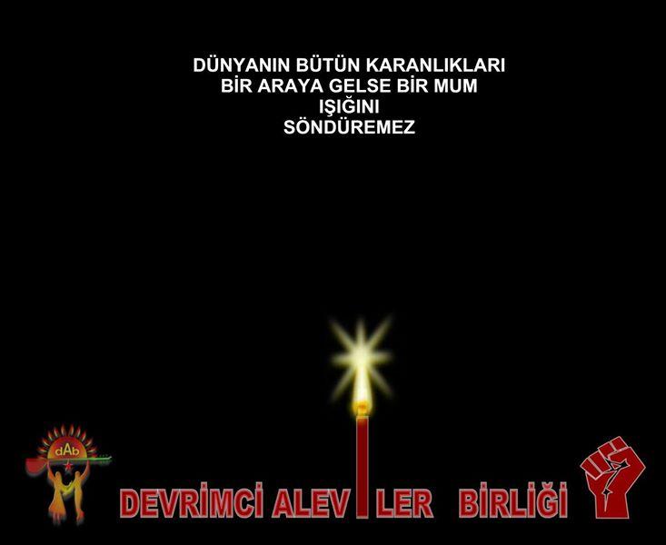 Devrimci Aleviler Birliği DAB Alevi Kızılbaş Bektaşi pir sultan cem hz Ali 12 imam semah Feramuz Şah Acar photo_658924834255909