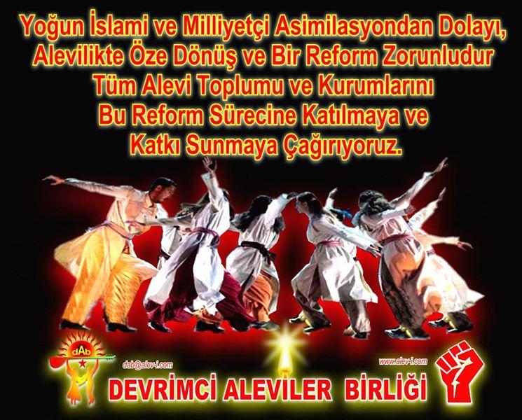 Devrimci Aleviler Birliği DAB Alevi Kızılbaş Bektaşi pir sultan cem hz Ali 12 imam semah Feramuz Şah Acar photo_665471063601286
