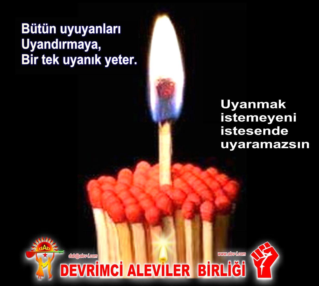 Devrimci Aleviler Birliği DAB Alevi Kızılbaş Bektaşi pir sultan cem hz Ali 12 imam semah Feramuz Şah Acar uyanik DAB