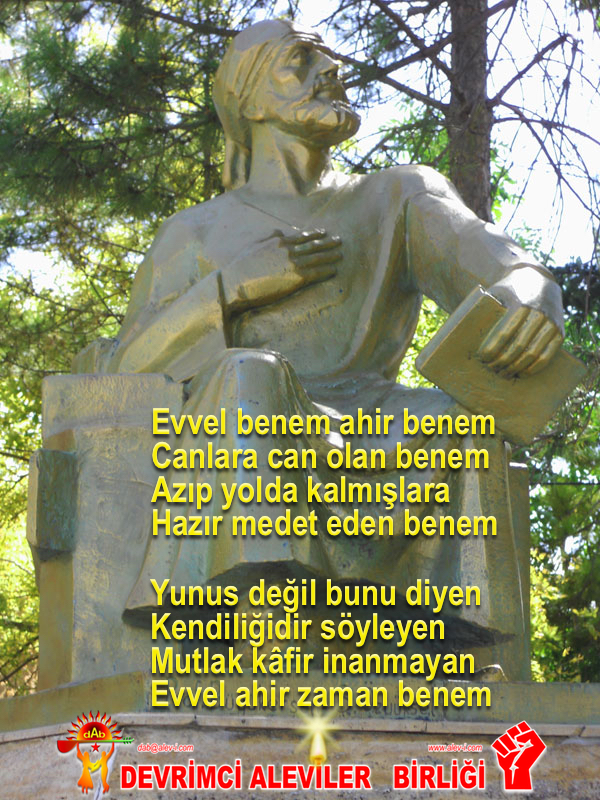 Devrimci Aleviler Birliği DAB Alevi Kızılbaş Bektaşi pir sultan cem hz Ali 12 imam semah Feramuz Şah Acar yunus e DAB