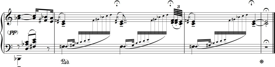 Debussy Voiles END