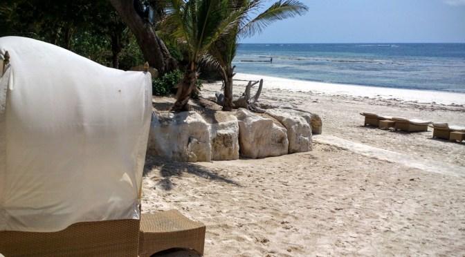 Plaża Diani w Kenii