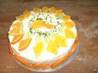 Mit den Orangenscheiben passt's auch gut zu Tequilla