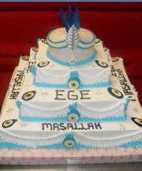 und noch eine schöne Mashallah Torte