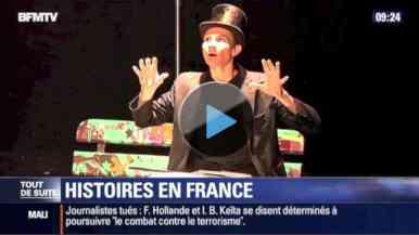 BFM TV équipe de France de magie FFAP reportage magicien