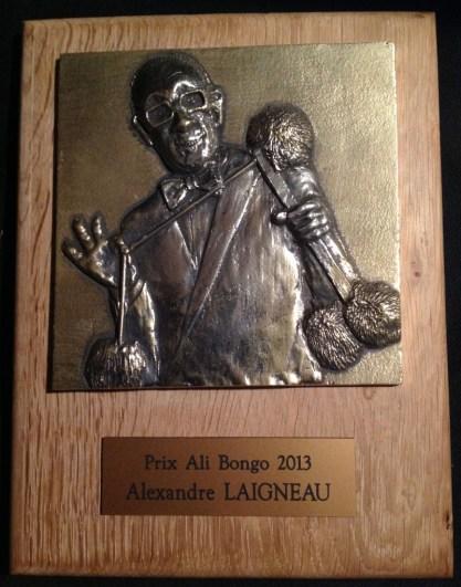 prix ali bongo congrès FFAP 2013 magie Saint Etienne Palmarès : Alexandre Laigneau