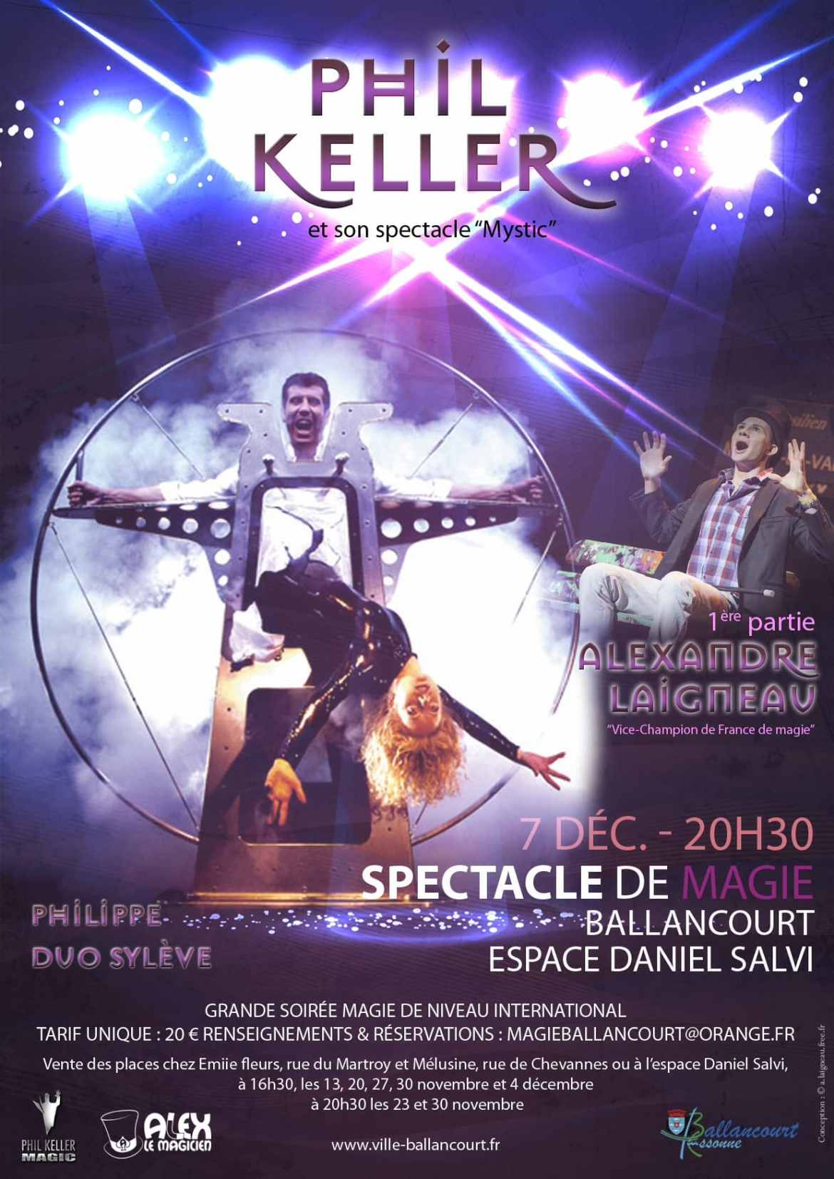 Spectacle international de magie à Ballancourt essonne
