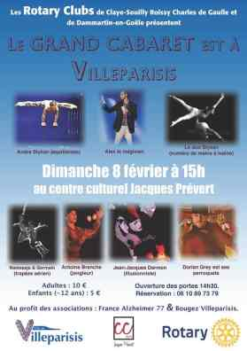 Le plus grand cabaret villeparisis magicien spectacle