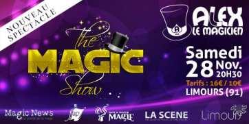 magic show téléthon limours spectacle de magie