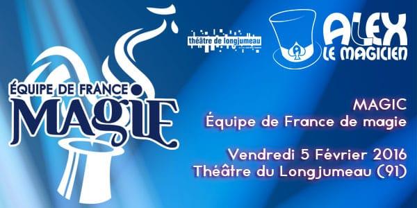 Théâtre de Longjumeau spectacle essonne magie
