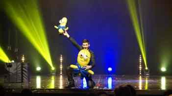 Anthony Neau magicien sculpteur sur ballon Mignon