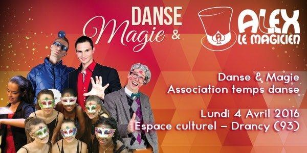 espace culturel drancy temps danse et magie
