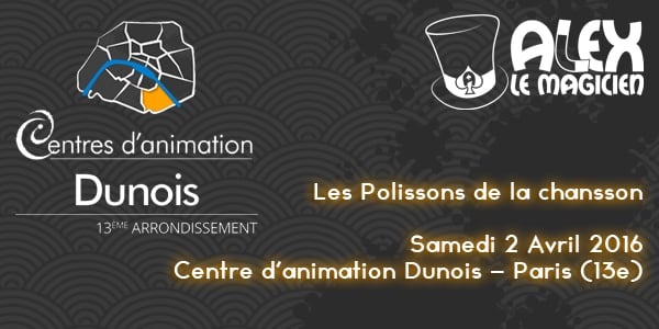 polissons de la chansson centre animation dunois paris 13