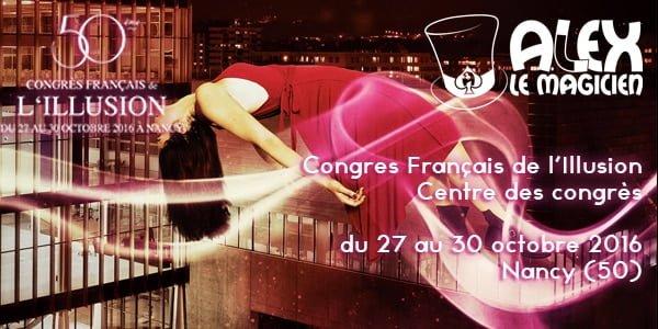 congres français de l'illusion ffap magie nancy centre des congrès