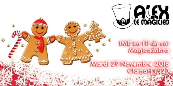 clamart magicien 92 IME noel spectacle