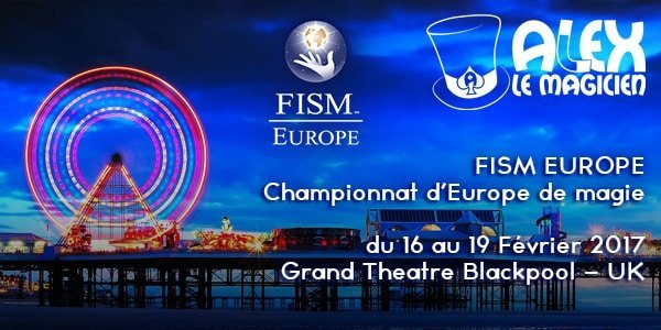 FISM Europe Blackpool 2017 Alex SNCF Train acte