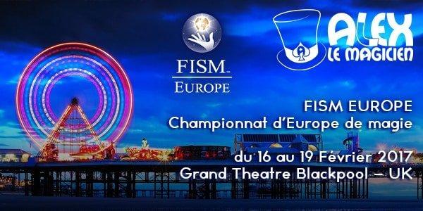 FISM Europe Blackpool 2017 Alex SNCF Train acte