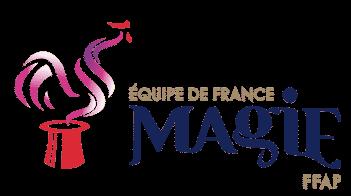 © Logo officiel Équipe de France de Magie FFAP