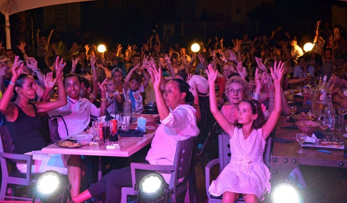 spectacle camping magicien gorge vent frejus