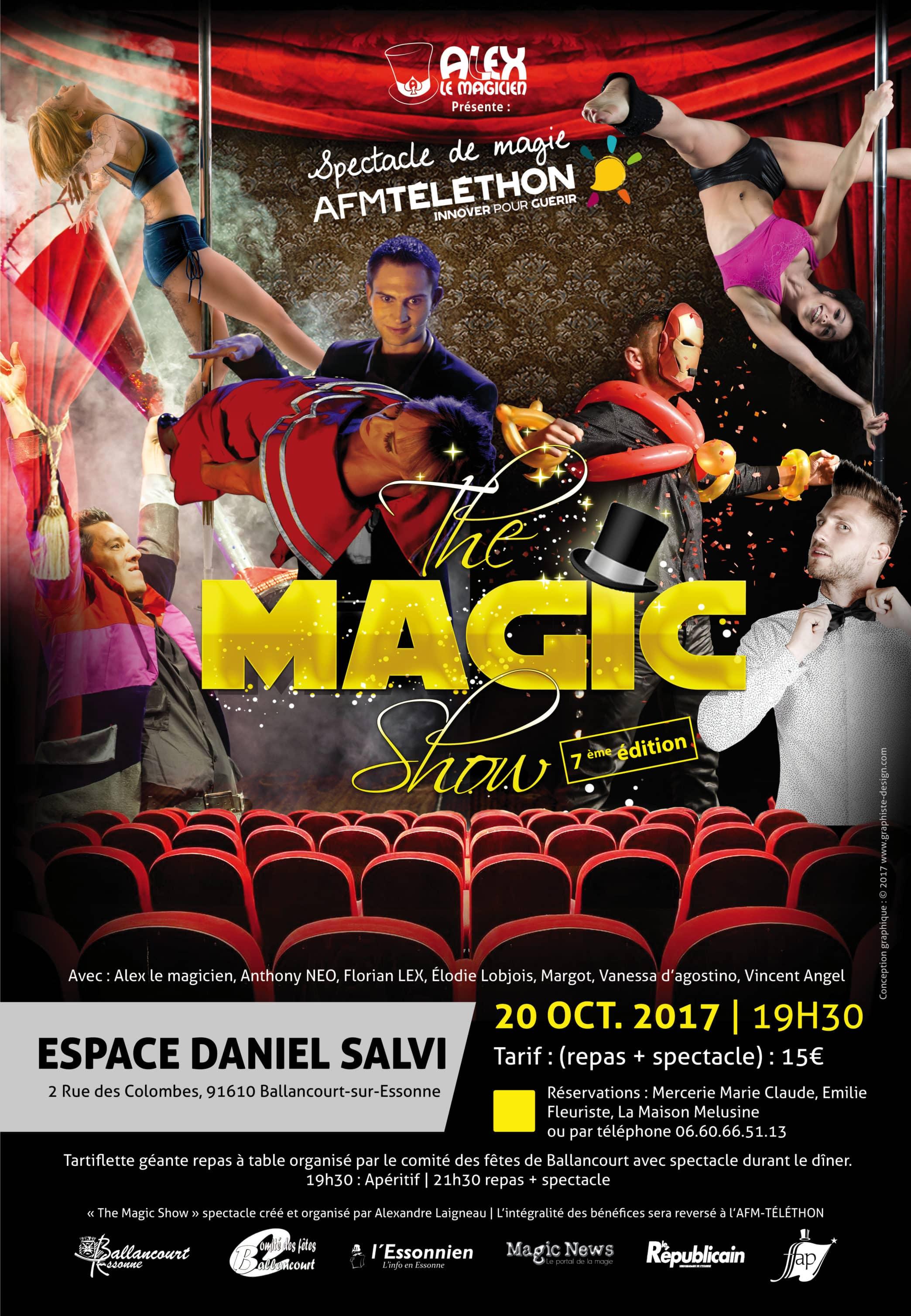 Affiche The Magic Show Ballancourt