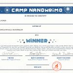 Scriitor certificat – concurs câștigat
