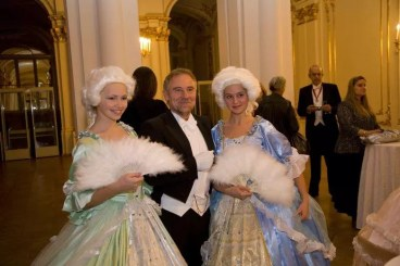 Silvester-Gala in St. Petersburg