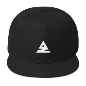 Icon Snapback Hat Black