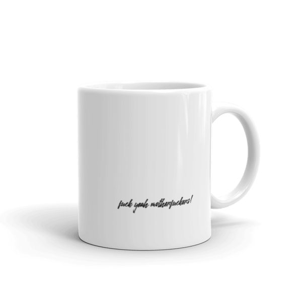Splat Mug – Black (R) 11oz Back